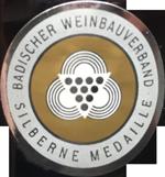 Silbermedallie Badischer Weinbauverband